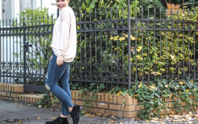 Let it sparkle: Jeans mit Glitzer!