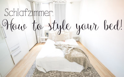 Schlafzimmer: How to style your bed.