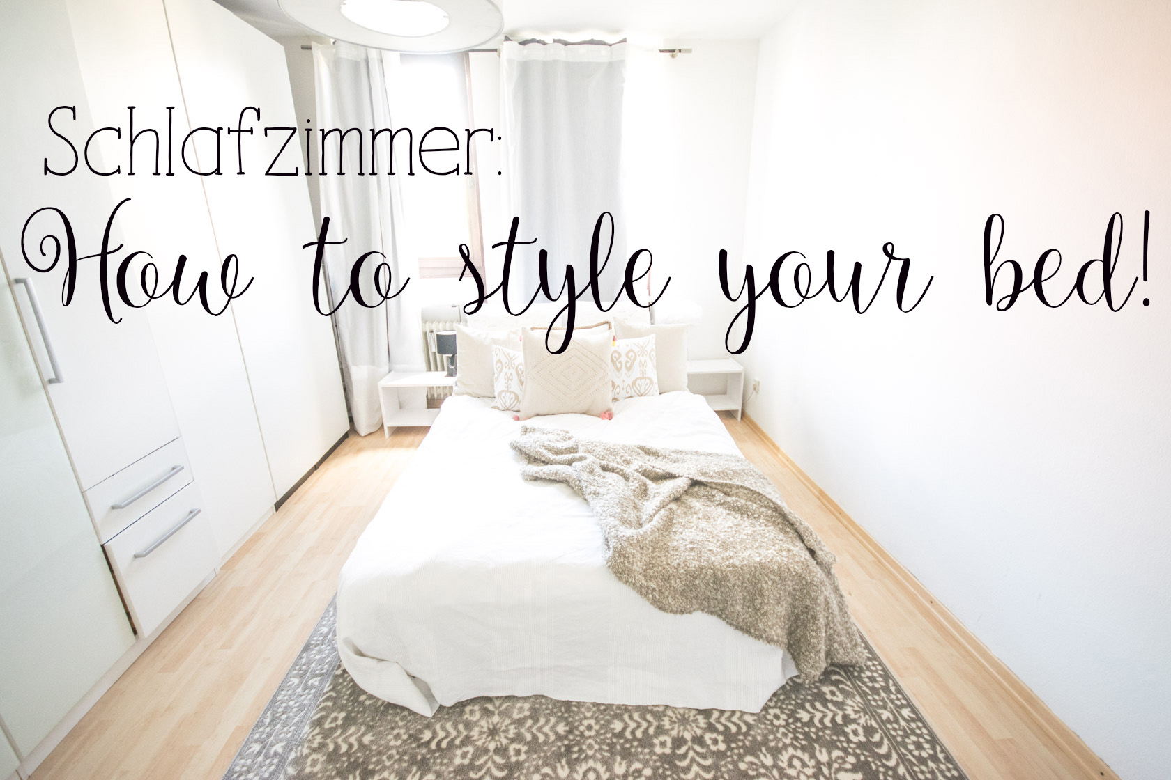 schlafzimmer how to style your bed nummer f nfzehn. Black Bedroom Furniture Sets. Home Design Ideas