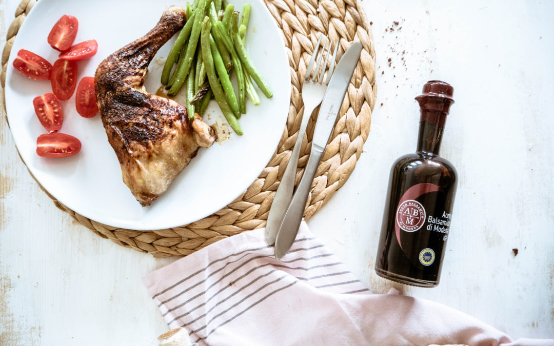 Low Carb: Balsamico-Hähnchen