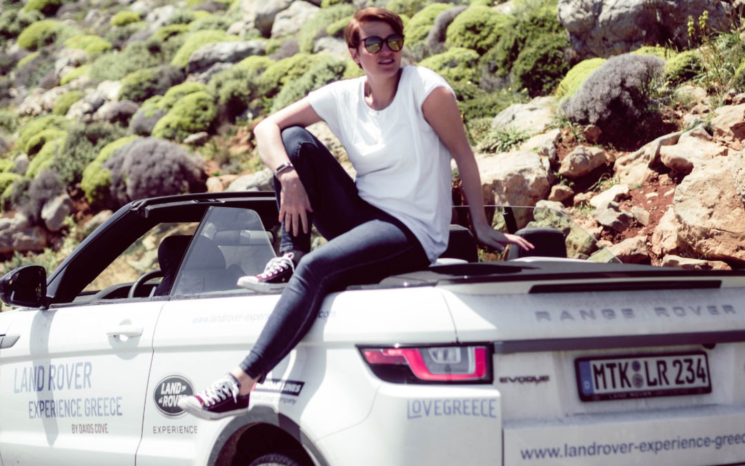 On the road: Driving Experience mit dem Land Rover Evoque auf Kreta